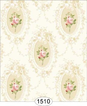 Camilla Floral Pink on White