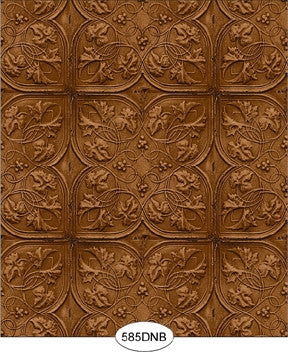 Wallpaper - Embossed Metal Ceiling Tile
