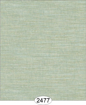 Wallpaper - Cozy Cottage Grasscloth - Blue