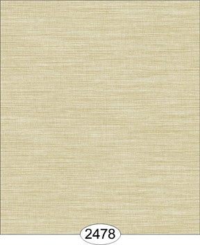 Wallpaper - Cozy Cottage Grasscloth - BeigeLight