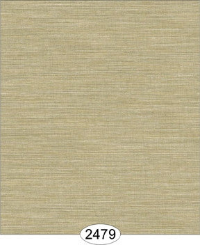 Wallpaper - Cozy Cottage Grasscloth - Beige Dark