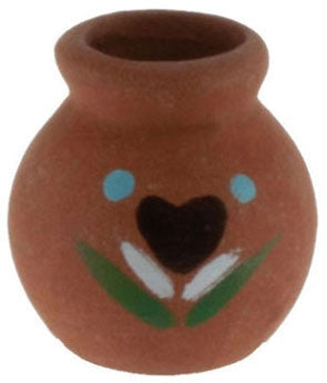 Clay Pot with Decal