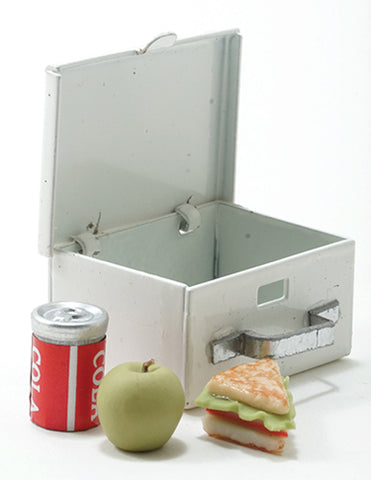 Lunch Box with Sandwich and Soda