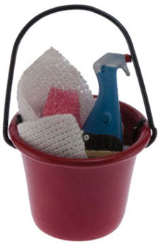 Cleaning Bucket with Accessories
