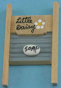 Wash Board with Soap