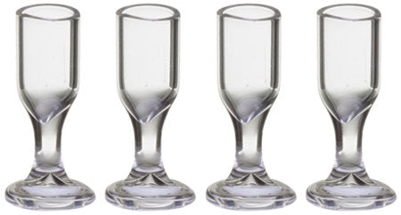 Set of Four Stemware Glasses