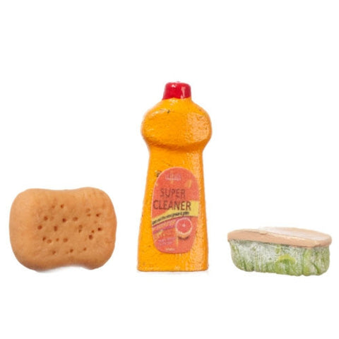 Soap,Sponge and Scrub Brush Set
