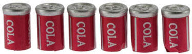 Cola, Set of Six Cans