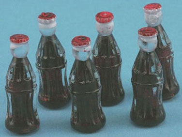 Cola, Set of Six Bottles