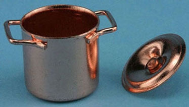 Copper Stock Pot, Economy Brand