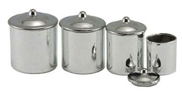 Canister Set, Stainless Steel