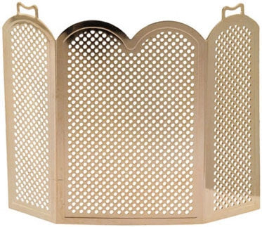 Fireplace Screen - Scalloped Edge