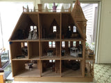Queen Anne Dollhouse, Assembled SOLD