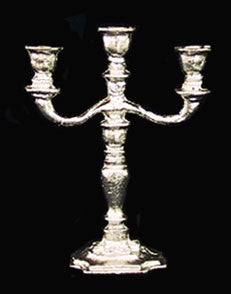 Candelabra, Three Arm, Silver