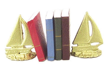 Sailboat Bookend Set
