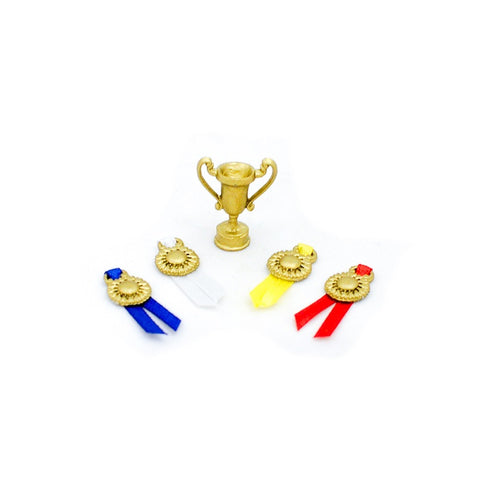 Horse Ribbons and Trophy Set