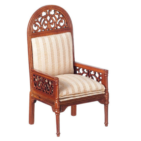 Walnut Victorian Arm Chair
