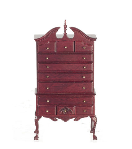 Chippendale Highboy, Mahogany
