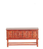 JBM Miniatures Sideboard, Walnut Finish