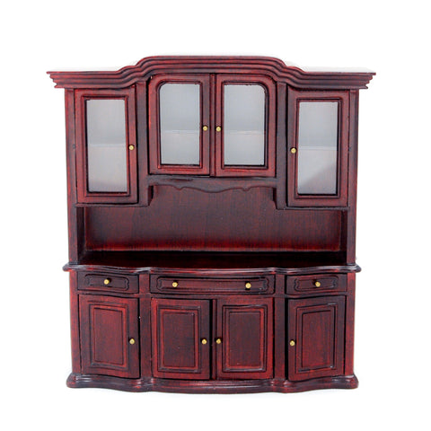 China Display Cabinet, Mahogany ON SALE