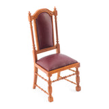 Jacobean Side Chair, Walnut Finish