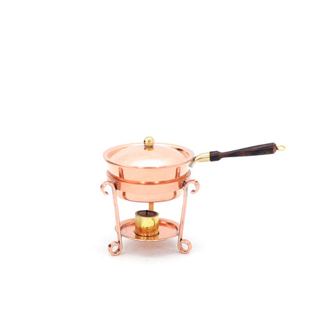 Copper Chafing Dish with Stand