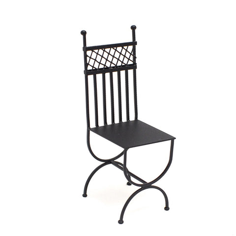 French Wrought Iron Chair