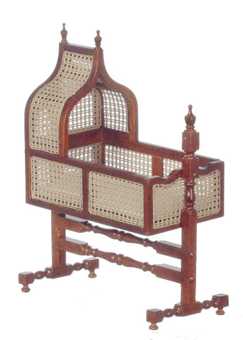 Jacobean Cane Hanging Cradle