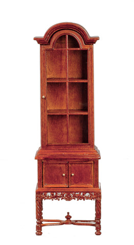 1790's China Cabinet, Walnut Finish