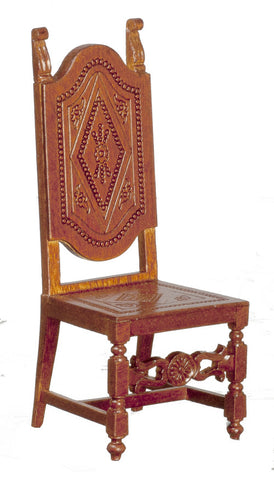 Spanish High Back Chair, 17th Century