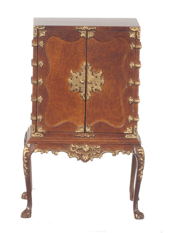 Chinese Chippendale Cabinet, Walnut
