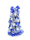Christmas Tree, Blue and Silver