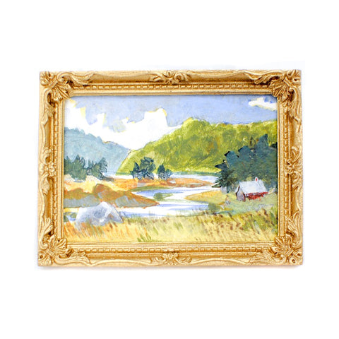 Original Painting, Scenic Country Landscape B