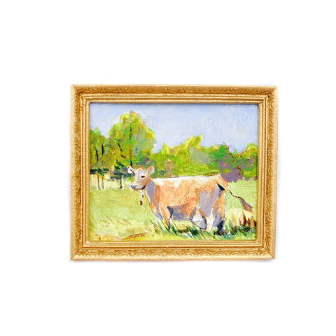 Original Painting, Scenic Cow