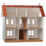 Stockbridge Dollhouse Kit with Front Porch
