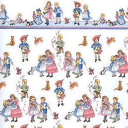 Victorian Children Wallpaper