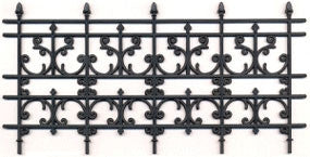 Faux Iron Fence C14