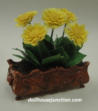 Floral Arrangement with Yellow Flowers