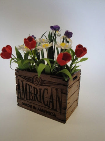 Crate of Tulips