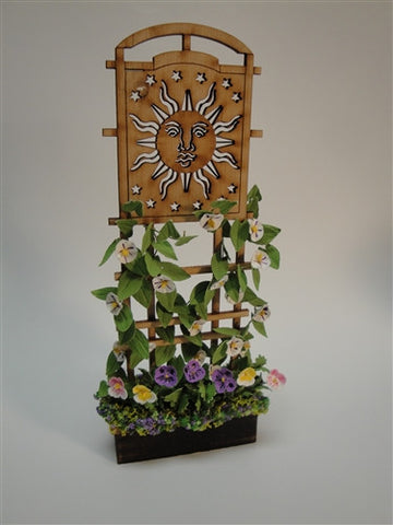 Sun Trellis by Judy Travis