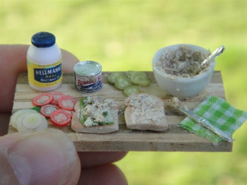 Tuna Salad Prep Board