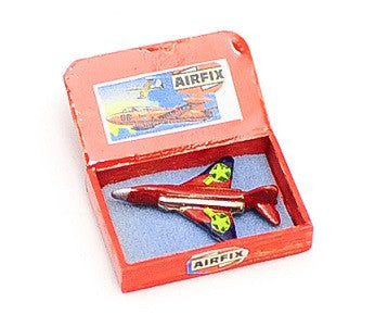 Model Airplane in a Box