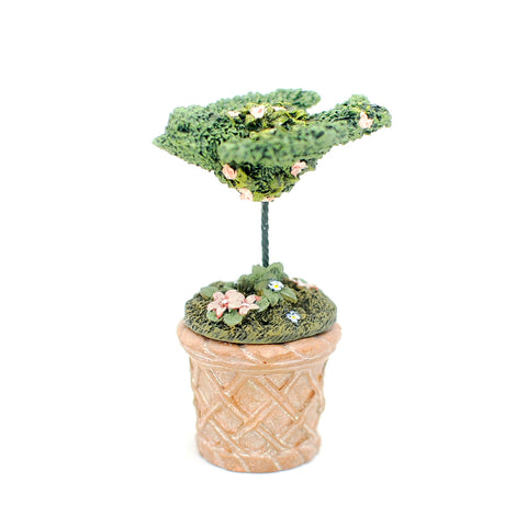 Bird Topiary in Terracotta Planter, LAST ONE
