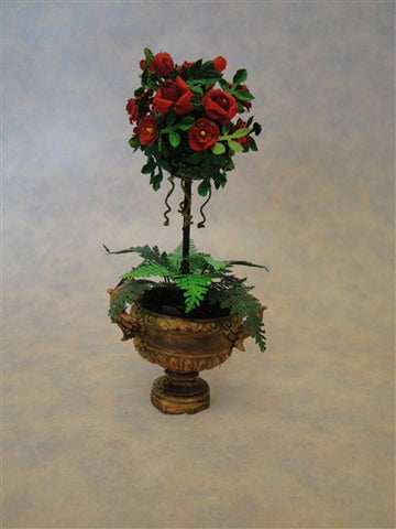 Red Rose Topiary OUT OF STOCK