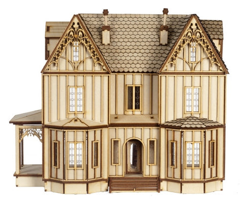 1:24 Scale Kristiana Tudor Dollhouse Kit