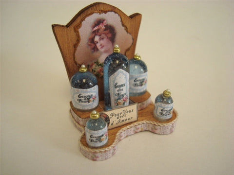 Lotions Display by Loretta