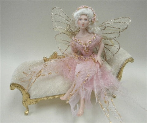 Sitting Fairy, Pink