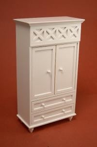 Ashley White Armoire