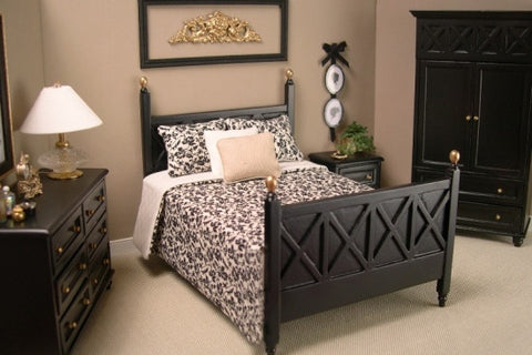 Bedroom Set, Ebony