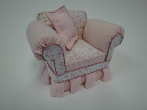 Shabby Chic Pink Chair